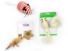 Pet Play Toy - Star/Mouse/Mouse&Ball