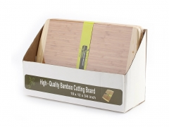 100% Bamboo Cutting Board 18in