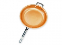 Ultra Tough Ceramic Copper Pan